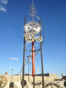 Wichita, KS Rotary Time Tower