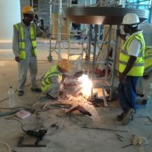 Waldor Astoria Palm Jumeriah clock project