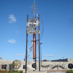 Wichita KS Rotary TIme Tower