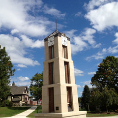 Roberts Wesleyan college clock tower, Rochester NY