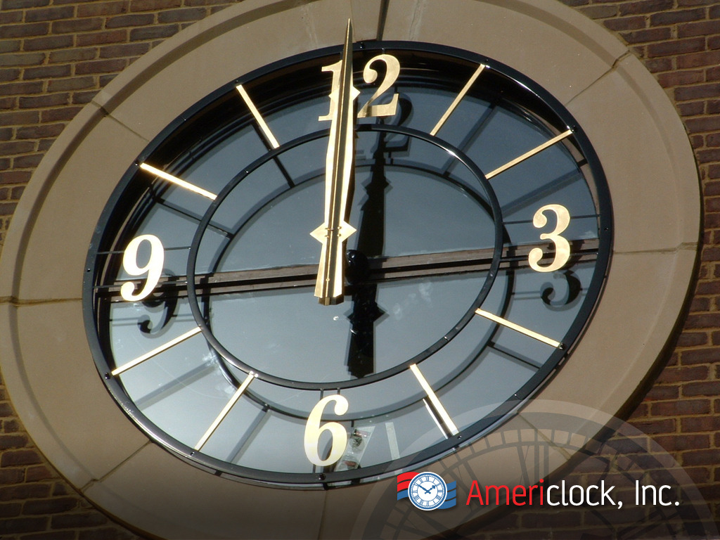 Skeleton Dial Clocks For Outdoor And Indoors Americlock