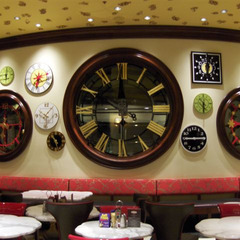 Wynn Casino clocks, Las Vegas NV