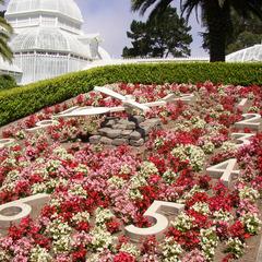 San Francisco, CA Golden Gate Park Garden Clock