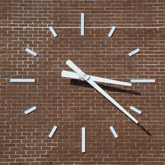 Delgado Community College tower clock, New Orleans LA