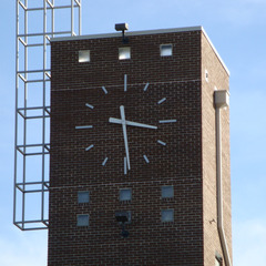 Delgado community college clock tower, New Orleans LA