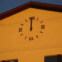 Assisted living appartments tower clock, Resida CA