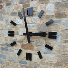 St Albans College Prep Silhouette clock, Washington DC