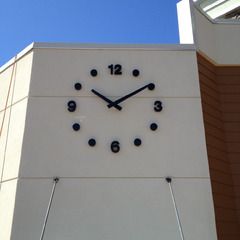 Restaurant clock, White Plains NY