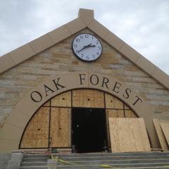 Oak Forest Metra train station Oak Forest IL