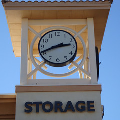 Phoenix AZ self storage clocks