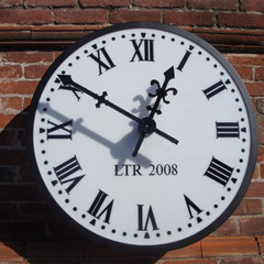 Redlands CA drum clock