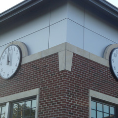 Williamsburg IA library clocks