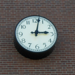 Blue Island IL high school clock