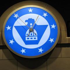 Kansas City MO bank clock