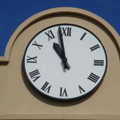 Midwest City OK sign clock