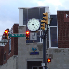 Nanticoke PA clock