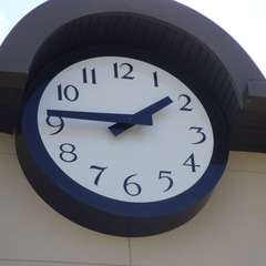 Fayetteville AR canister clock
