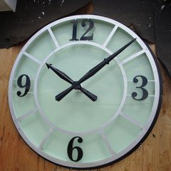 Cherry Hill NJ 3D clock with glass face