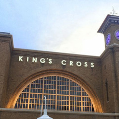Universal Studios Diagon Alley Kings Cross Station canister clocks with RGB LED lights