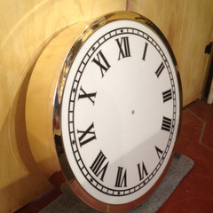 Custom brass clock, Fort Wayne IN