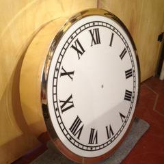 Custom brass clock, Fort Wayne IN