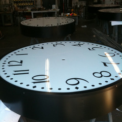 Drum clock getting ready to ship