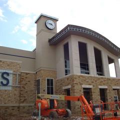 High school clock Bastrop ISD, Bastrop TX