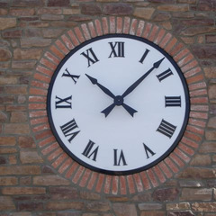 Swimming pool clubhouse clock, Gilbert AZ