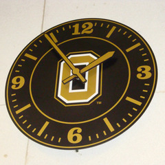 Oakland University gym clock, Rochester MI