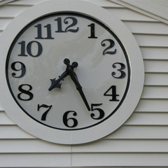 Wall clock in St. Louis MO