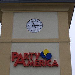 Party America surface mount clock