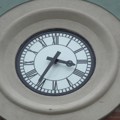Needham, MA coffee house clock