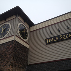 Times Square retail center clock, Crete IL