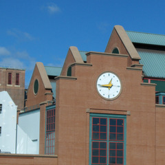 Providence RI power plant clock
