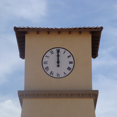 Surprise AZ clocktower