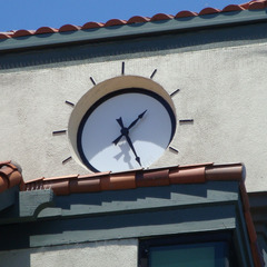 Holiday Inn Express clock, Santa Clara CA