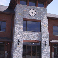 Law firm tower clock, Sikeston MO