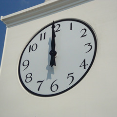 Town hall tower clock, Livingston NJ