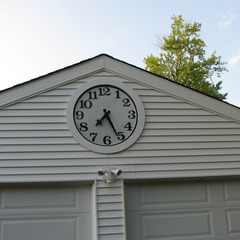 Private residence clock, St. Louis MO