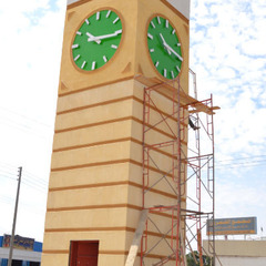 Clock tower in Jeddah Saudia Arabia KSA