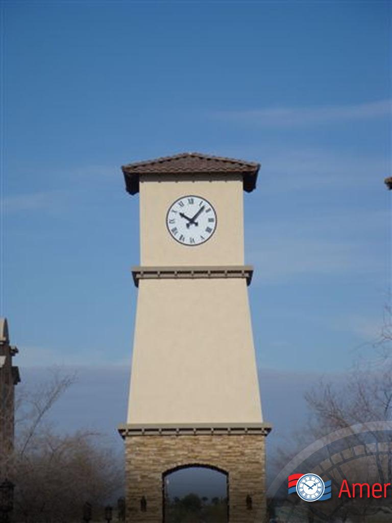 Cell Phone Tower Clocks Americlock
