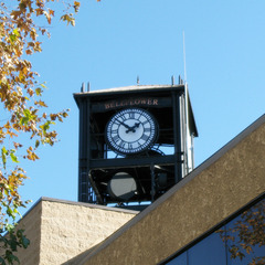 Bellflower CA city hall RF Friendly clock
