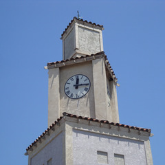 Cell phone clock tower, Norwood CA