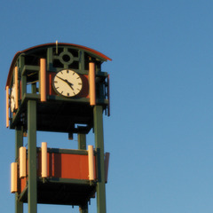 Cell Tower Clocks