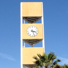 RF Friendly cell phone tower clock, Manteca CA