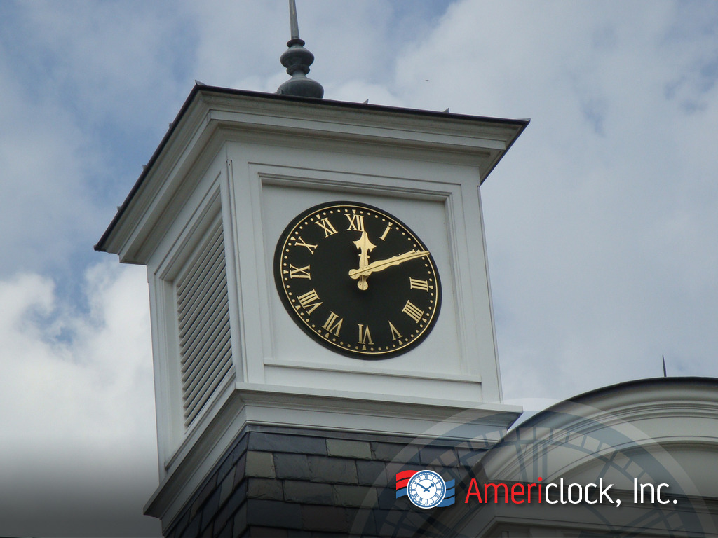 Cupola Clocks For Any Roof Or Building With One To Four