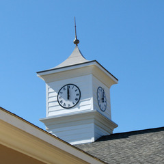 Clubhouse cupola clock, Blythewood SC