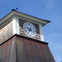 Greenwich Equestrian cupola clock, Westchester NY