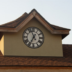 Kirkwood train station cupola clock, St. Louis MO