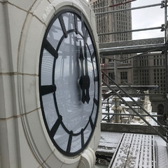 May Company Ohio Building Clock Restoration Completed Look